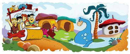 50 aniversario de los Picapiedra en Google Doodle