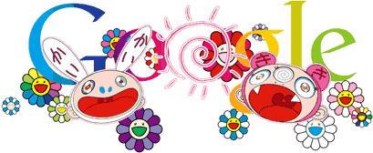 Primer día de verano. Doodle de Takashi Murakami, 2011.