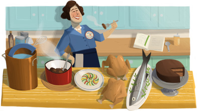 100 Aniversario del Nacimiento de Julia Child
