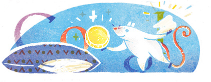 Google Logo: Luis Coloma's 161th birthday, Spanish writer and journalist