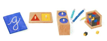 142 aniversario del nacimiento de Maria Montessori