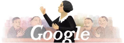 126º aniversario del nacimiento de Clara Campoamor - Clara Campoamor's 126th Birthday : Spain