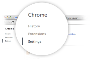 Preferencias de Google Chrome