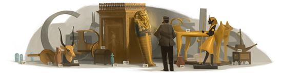 138 aniversario del nacimiento de Howard Carter