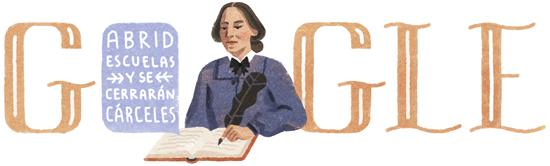 195º aniversario del nacimiento de Concepción Arenal
