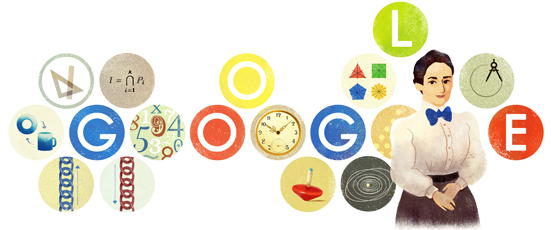 133º aniversario del nacimiento de Emmy Noether