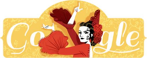 93.º aniversario del nacimiento de Lola Flores