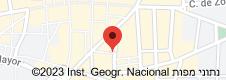 מפה של Tablao Flamenco Villa Rosa