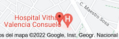 Mapa de Hospital Vithas Nisa Virgen del Consuelo