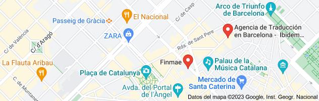 Mapa de traductor