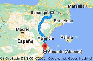 Mapa de Benasque, 22440, Huesca a Alicante