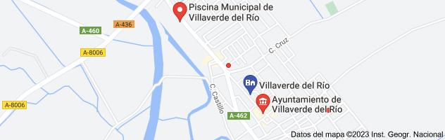 Mapa de pabellon villaverde del rio