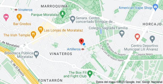 Mapa de Calle del Camino de los Vinateros, 169, 28030 Madrid
