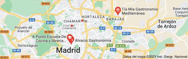 Mapa de Gastronomía y cocina